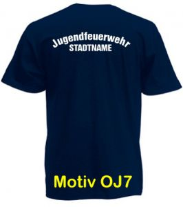 Jugendfeuerwehr T-Shirt Motiv OJ7