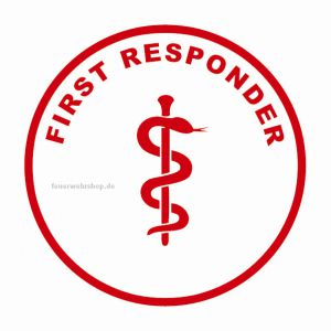Helmsticker - FIRST RESPONDER