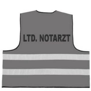 Rettungsdienst Funktionsweste mit Aufdruck LTD. NOTARZT