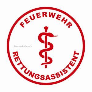 Helmsticker - FEUERWEHR RETTUNGSASSISTENT