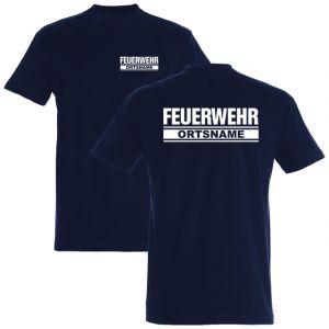 Feuerwehr T-Shirt mit Ortsname Motiv O23