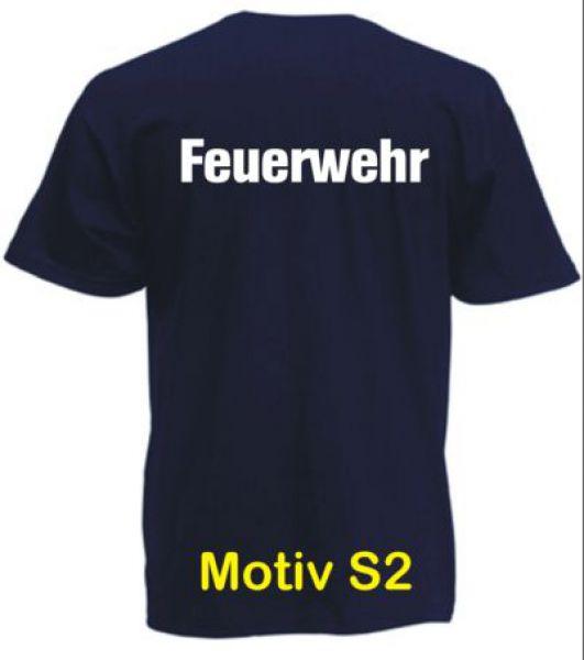Feuerwehr T-Shirt Motiv S2