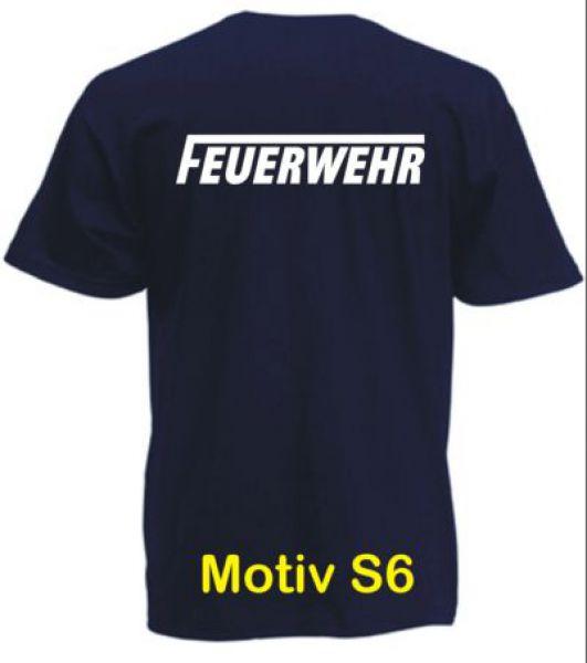 Feuerwehr T-Shirt Motiv S6