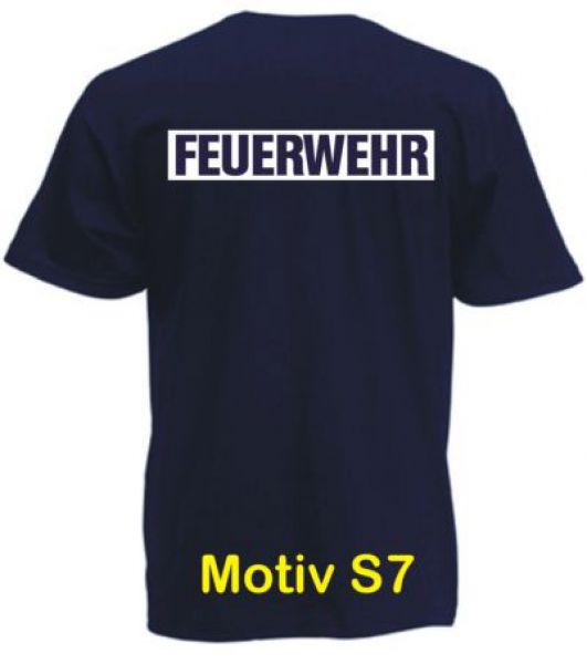 Feuerwehr T-Shirt Motiv S7