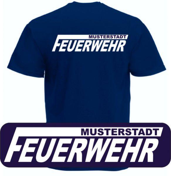 Feuerwehr T-Shirt mit Ortsname Motiv O15