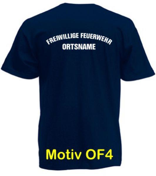 Feuerwehr T-Shirt mit Ortsname Motiv OF-4