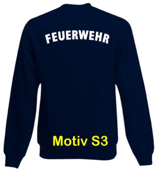 Feuerwehr Sweatshirt Motiv S3