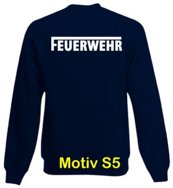 Feuerwehr Sweatshirt Motiv S5