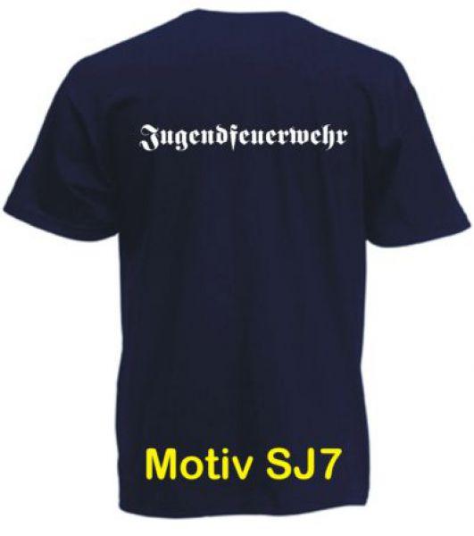 Jugendfeuerwehr T-Shirt Motiv SJ7