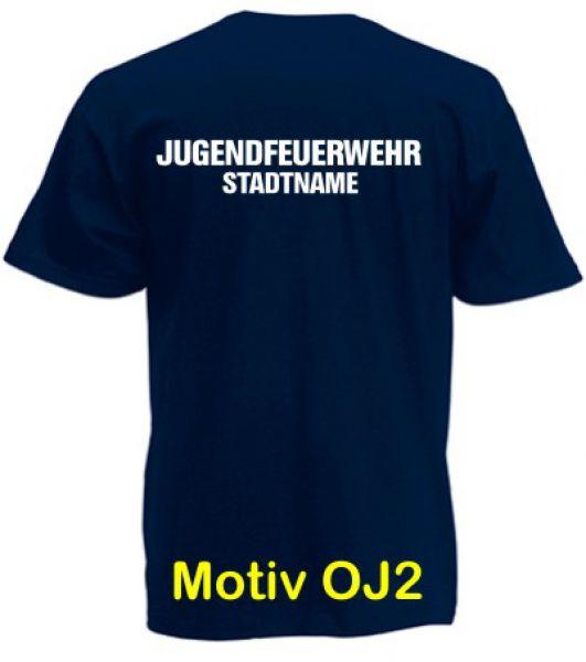 Jugendfeuerwehr T-Shirt Motiv OJ2