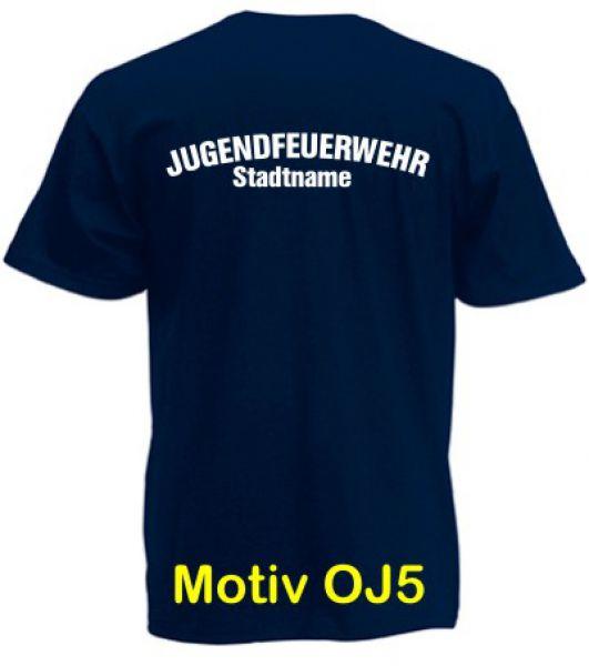 Jugendfeuerwehr T-Shirt Motiv OJ5