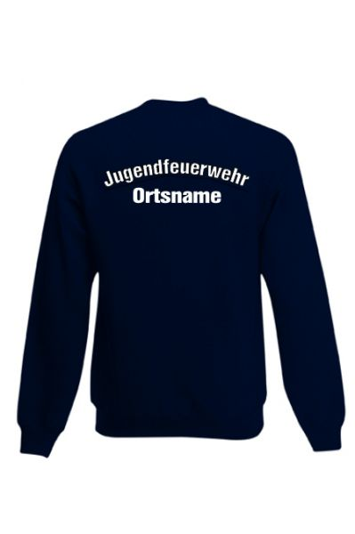 Jugendfeuerwehr Sweatshirt mit Ortsnamen Motiv OJ3