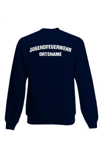 Jugendfeuerwehr Sweatshirt mit Ortsnamen Motiv OJ4