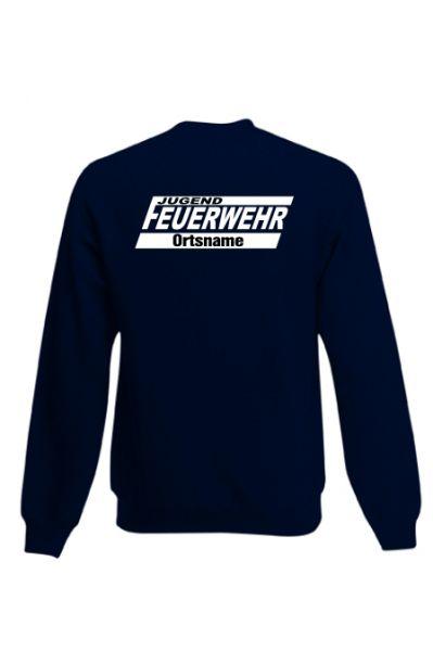 Jugendfeuerwehr Sweatshirt mit Ortsnamen Motiv OJ15