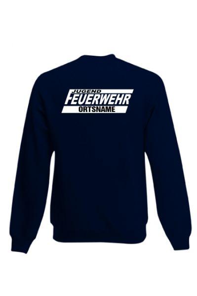 Jugendfeuerwehr Sweatshirt mit Ortsnamen Motiv OJ16