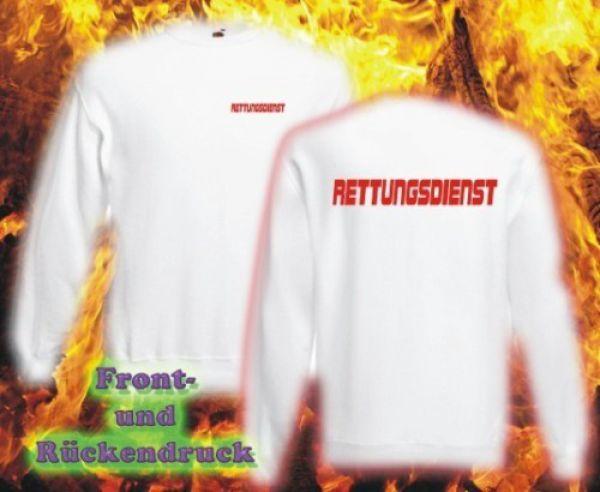 RETTUNGSDIENST Sweatshirt Motiv R2