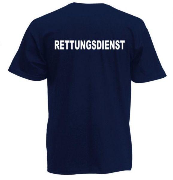 Rettungsdienst T-Shirt Motiv R1