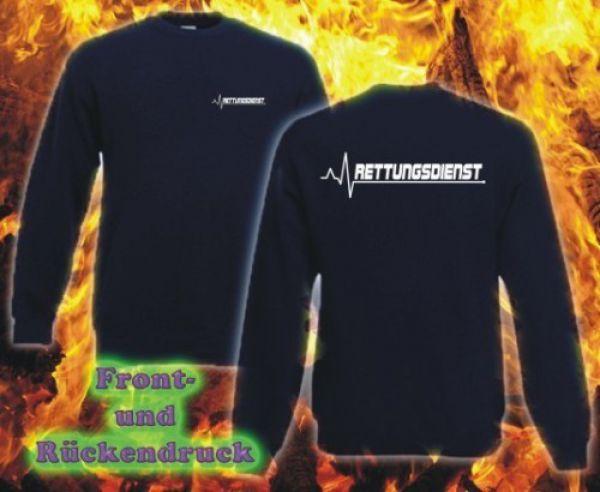Rettungsdienst Sweatshirt Motiv R4