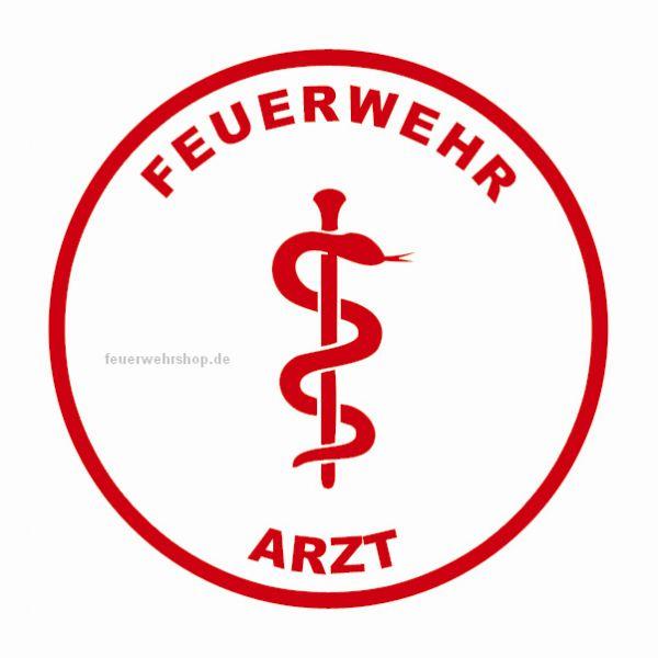 Helmsticker - FEUERWEHR ARZT