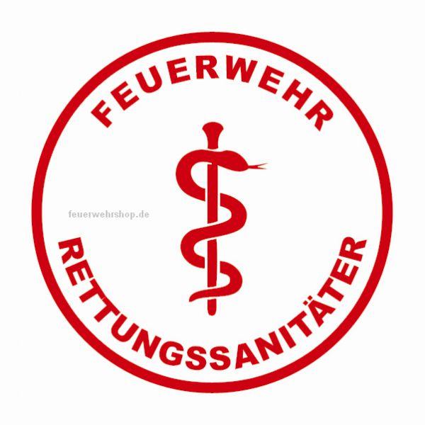 Helmsticker - FEUERWEHR RETTUNGSSANITÄTER