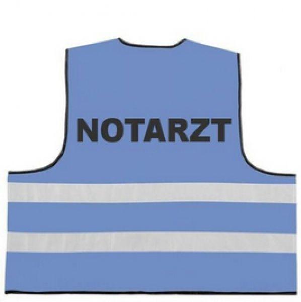 Rettungsdienst Funktionsweste mit Aufdruck NOTARZT