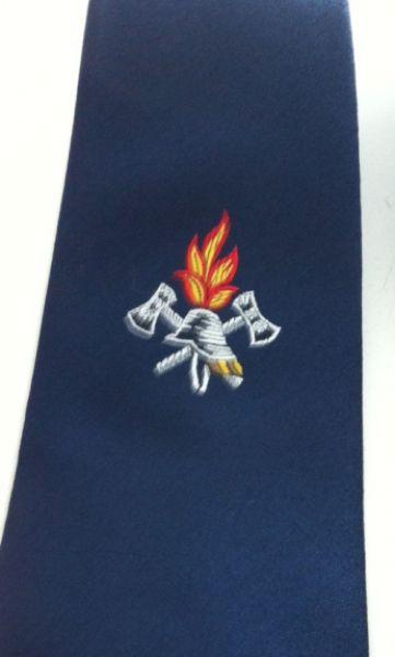 Feuerwehr Krawatte mit Logo