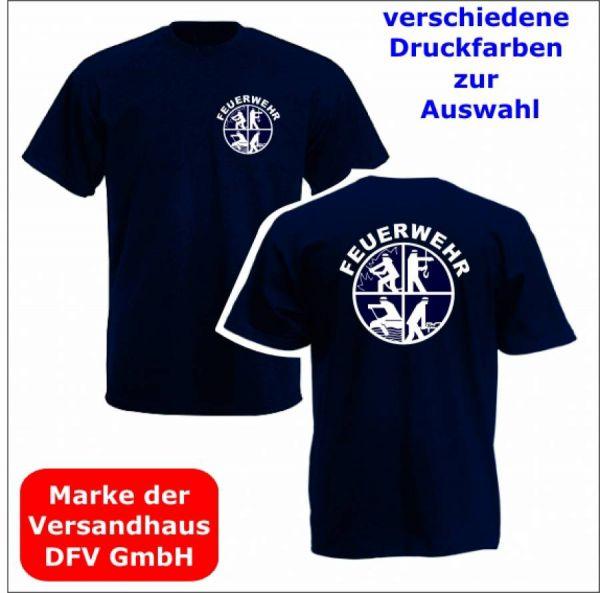 Feuerwehr T-Shirt Motiv L2 + Ortsname
