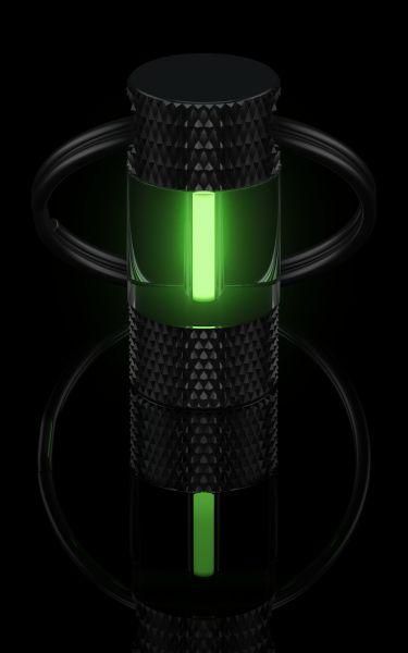 Schlüsselanhänger, grün