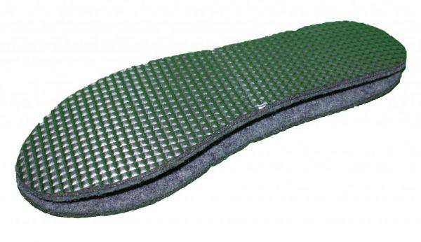 Alu / Filz-Einlegesohlen für Feuerwehr-Stiefel (Filzeinlagen)