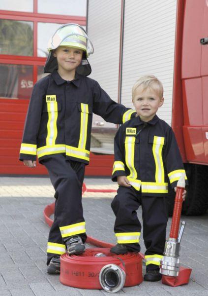 Kinder - Feuerwehrjacke, einzeln