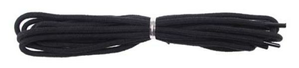 Schnürsenkel, schwarz, für Feuerwehrstiefel, Länge 160 cm