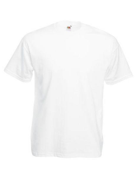 T-Shirt Valueweight T, weiss