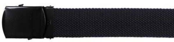 Gewebe - Gürtel, 30 mm, blau, mit Metallschloß