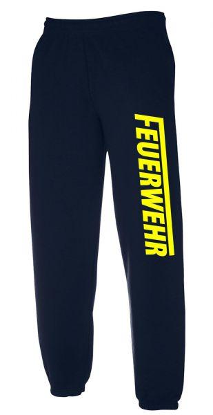 FEUERWEHR Freizeithose (Jogginghose) mit Aufdruck Motiv S6 lang