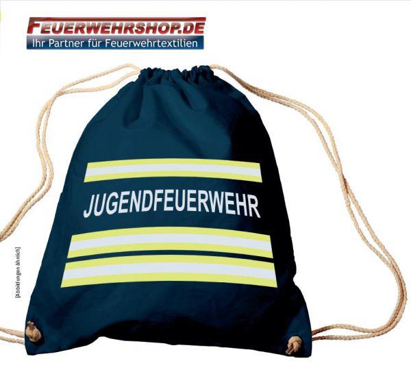 Rucksack- / Turnbeutel mit hochwertigem Druck JUGENDFEUERWEHR