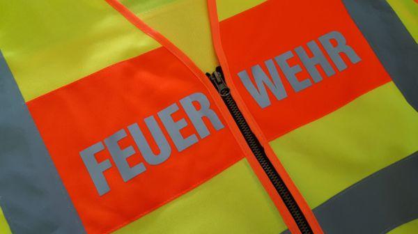 Feuerwehr Warnweste / Signalweste - mit Aufdruck FEUERWEHR