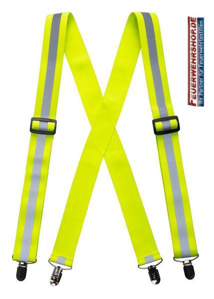Feuerwehr Hosenträger im Hupf-Design nach EN ISO 20471