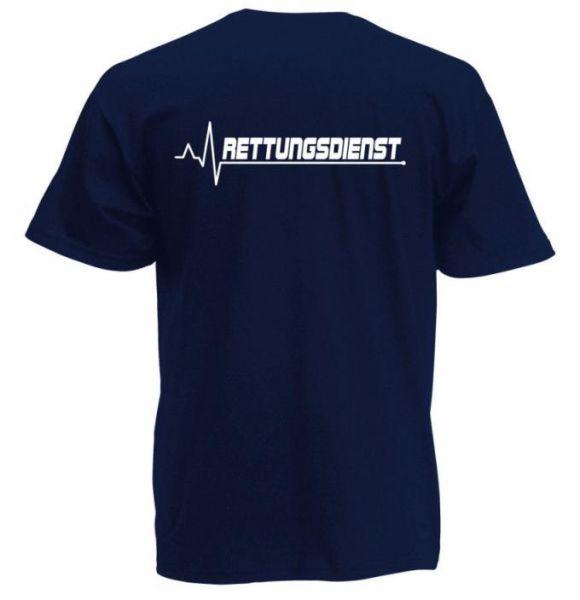 Rettungsdienst T-Shirt Motiv R4