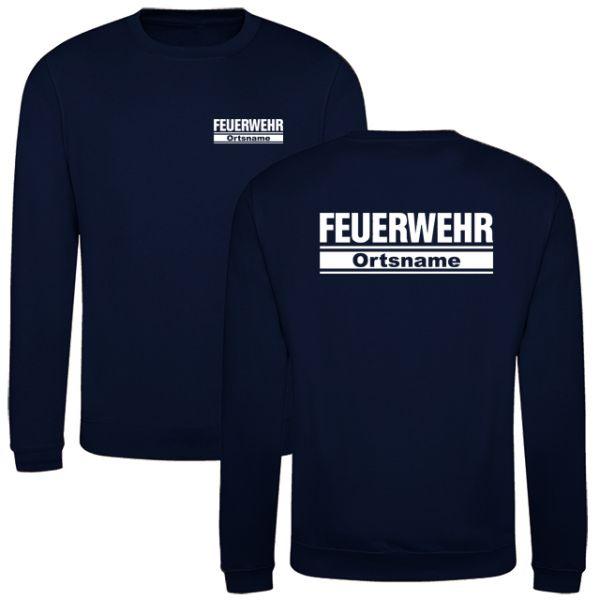 Feuerwehr Sweatshirt mit Ortsnamen Motiv O24