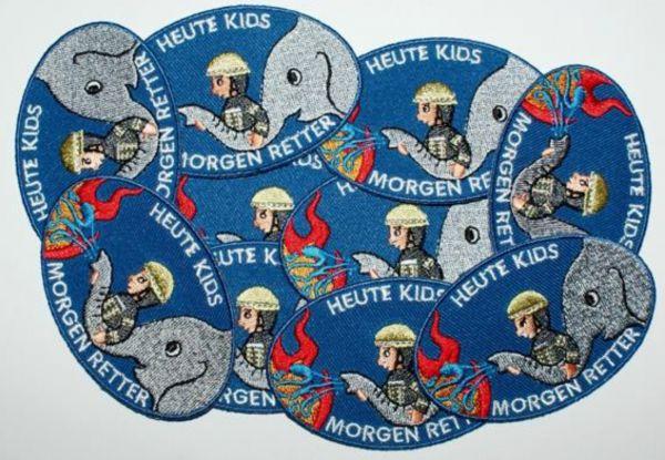 10er Pack - Abzeichen für Feuerwehrkids
