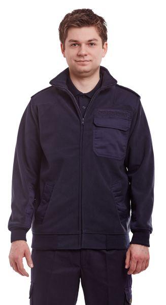 Feuerwehr Fleece-Jacke mit Schulterklappen und Membrane